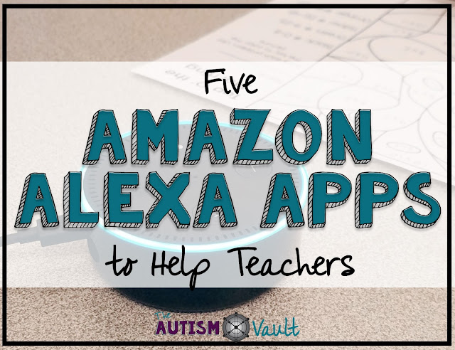 Amazon's Echo Dot can be an aweome tool to use in a special education classroom. However, there are also many awesome way to use Alexa as a special education teach as well.
