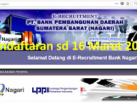 Bank Nagari - CS dan Teller (Close 16 Maret 2018)