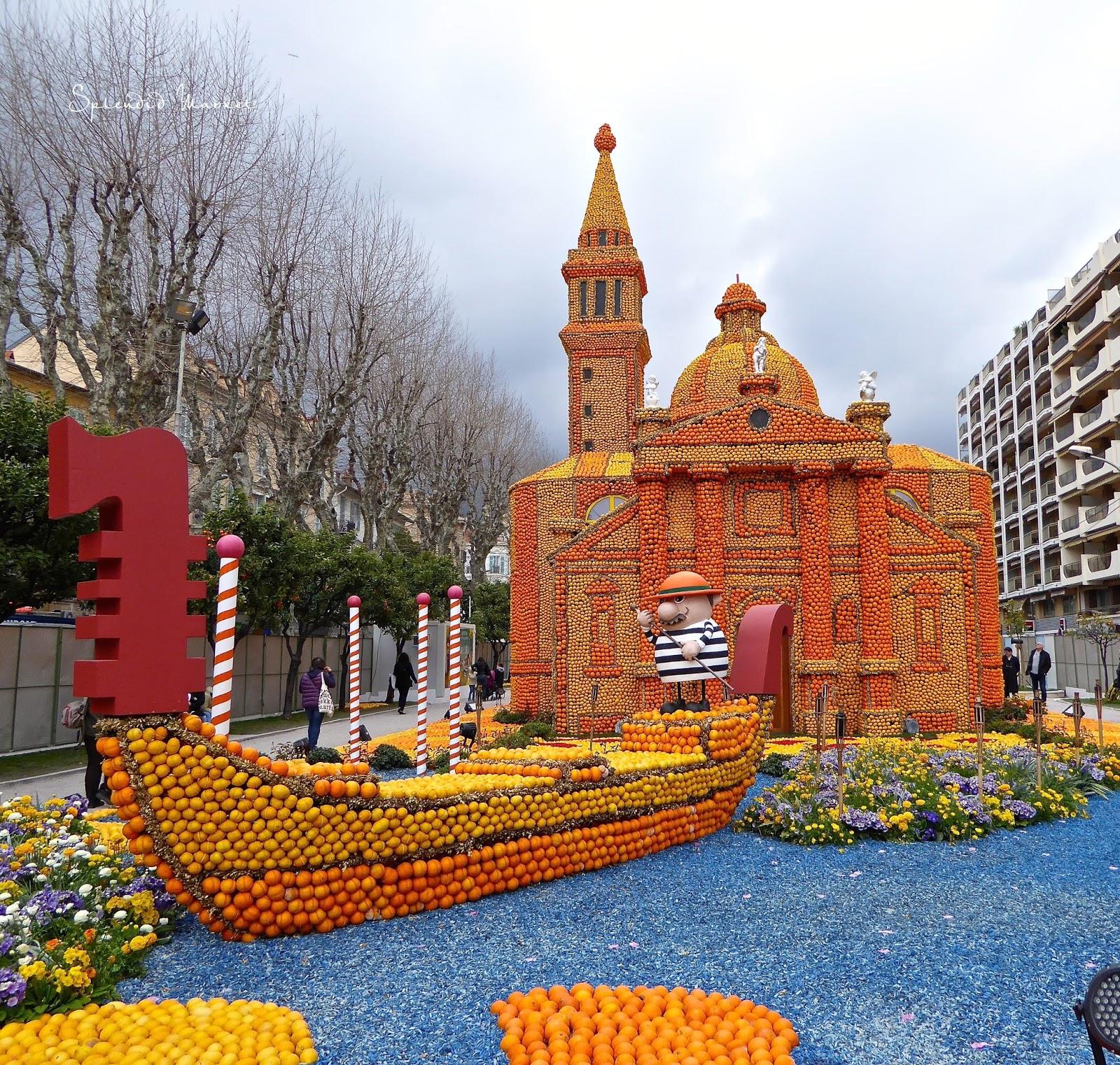 Fleur De Lotus Dijon fête du citron, menton, france….