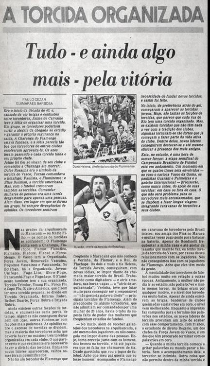 Força Jovem Jornal O Globo 1978 7586536691da9