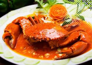Kepiting Saus Pedas