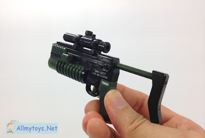 Tiny Grenade Launcher Toy Gun That Shoot 2