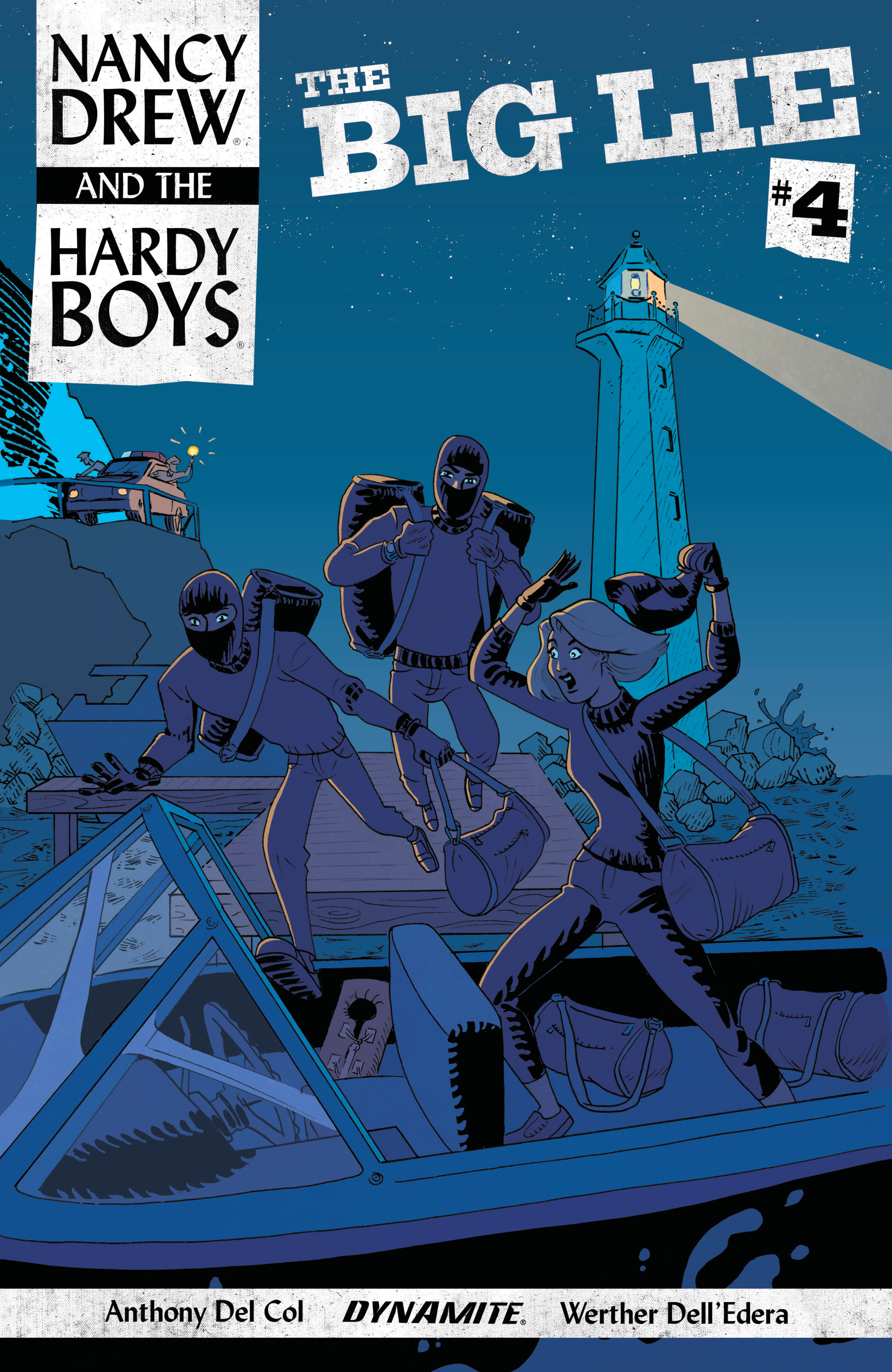 Read online Nancy Drew And The Hardy Boys: The Big Lie comic -  Issue #4 - 2