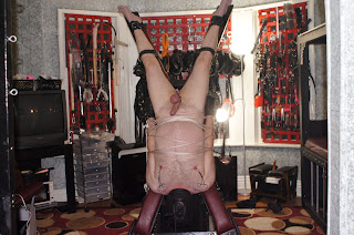 inversion table bondage