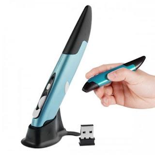 Mouse Wireless Berbentuk Pulpen