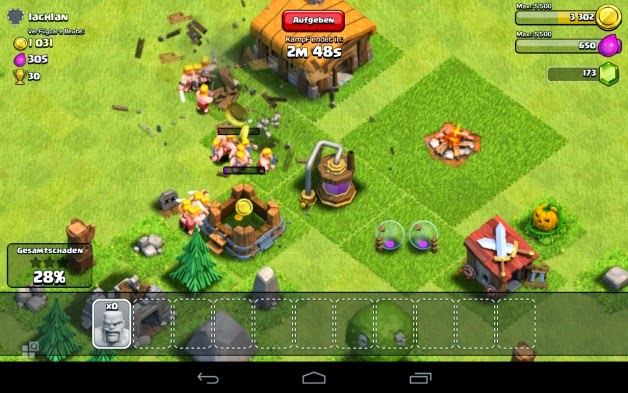 clash of clans mod apk download uptodown