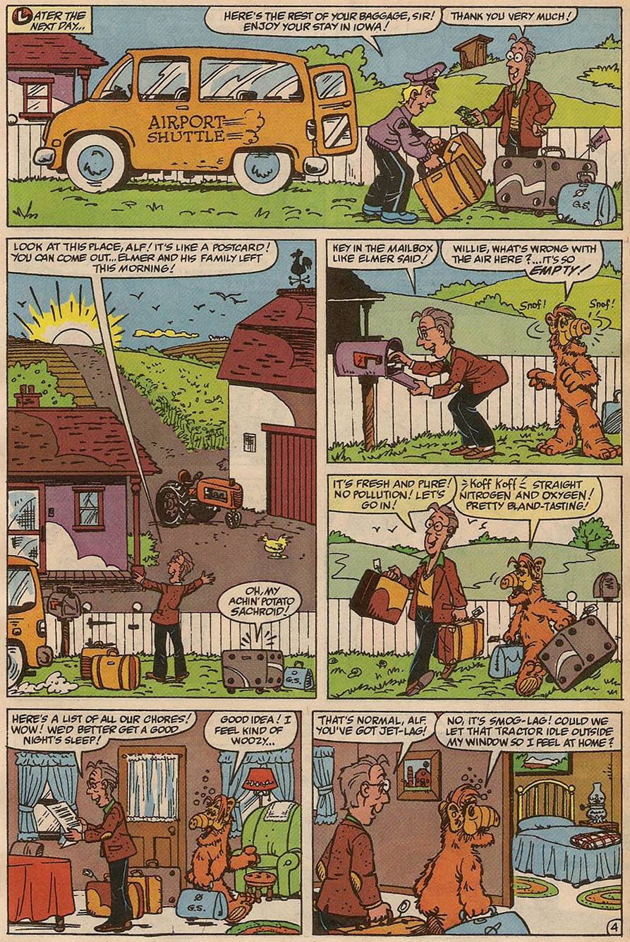 Read online ALF comic -  Issue #37 - 6