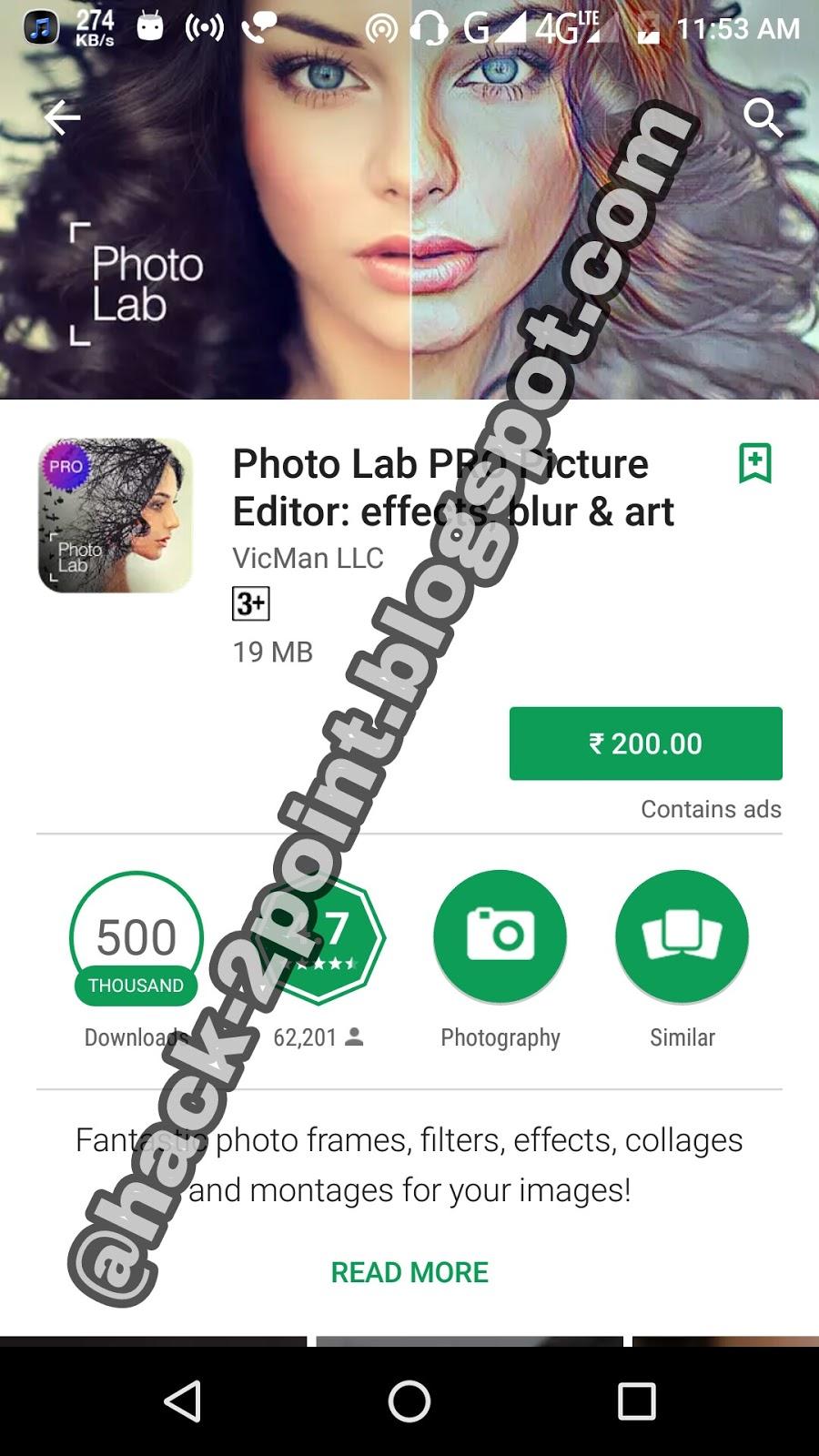 photo lab pro photo editor free download