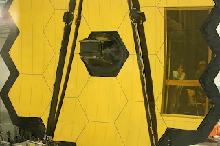 JWSTArt Event, James Webb Space Telescope mirrors