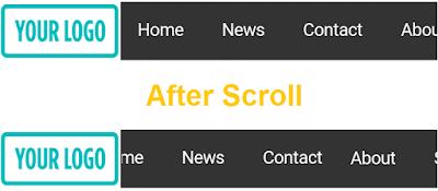 horizontal-nav-with-logo-mobile-blogger