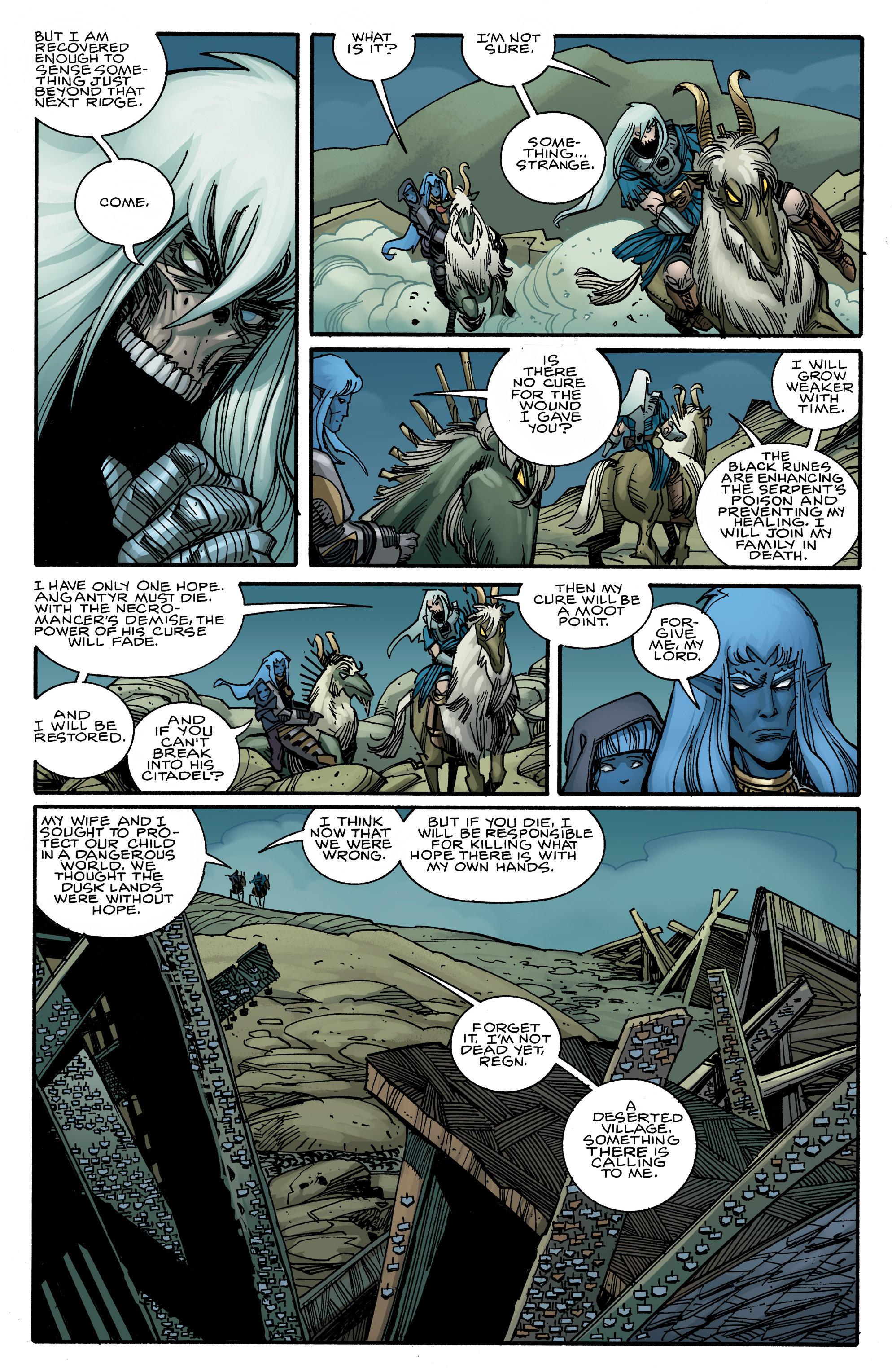 Read online Ragnarok comic -  Issue #10 - 12