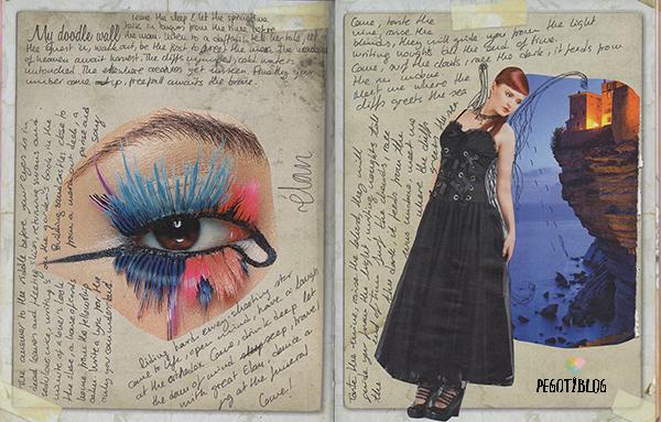 Art journal - Pegotiblog ojo y goth