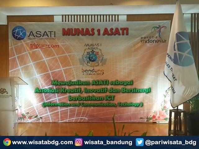 Munas I Association of Sales Travel Indonesia (Asati) di Bandung