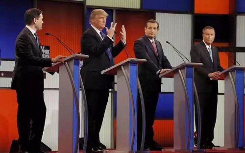 Donald Trump assures America he has a big eggplant during detroit presidential debate