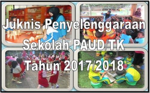 Download Juknis Penyelenggaraan BOP PAUD/TK Tahun 2017