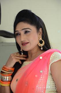 Ramnya Sri in lovely Saree
