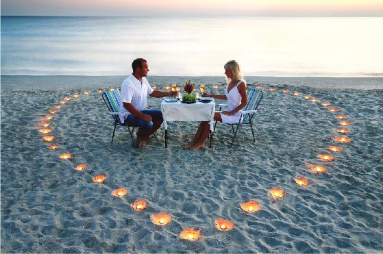 Dinner Romantis di Pulau Cinta Gorontalo