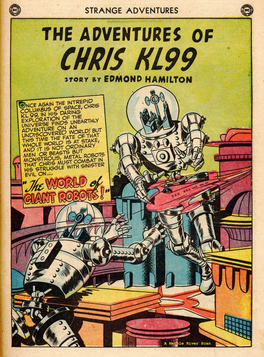 Strange Adventures (1950) issue 2 - Page 39