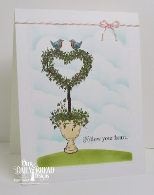 ODBD Happy Wedding Day, ODBD Custom Pierced Rectangles Dies, Card Designer Angie Crockett