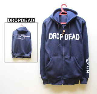Jaket Fleece Hoodie - Dropdead DROP003