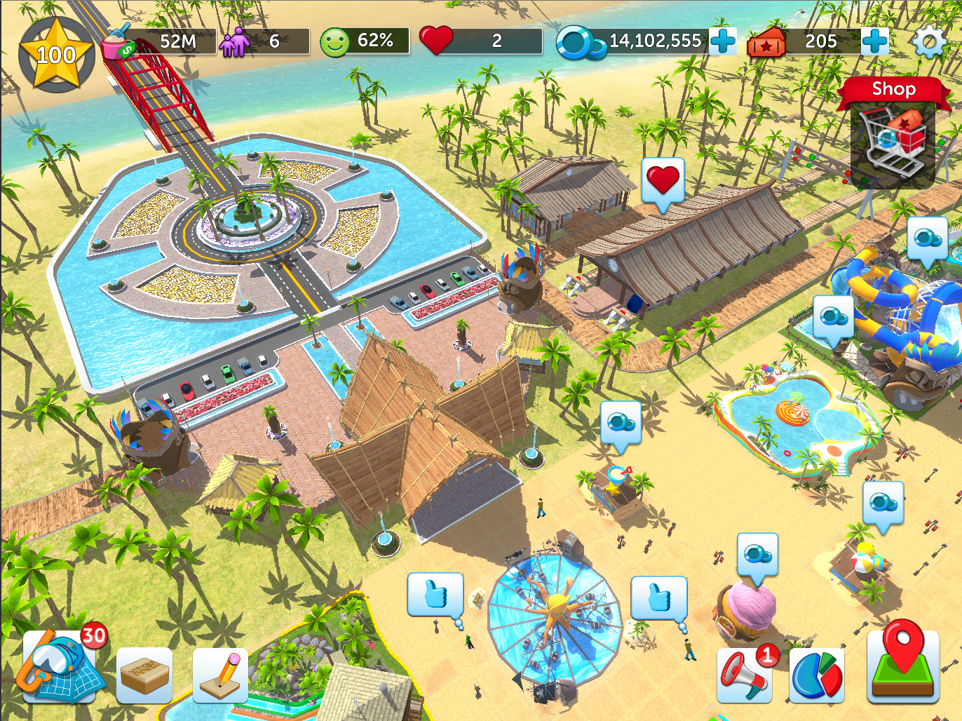 The Edge: Create a Dream Water Park in the Biggest Update Yet for Roller Coaster Tycoon Touch