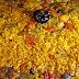 Paella de secreto ibérico y verduras al estilo cofrade alicantino