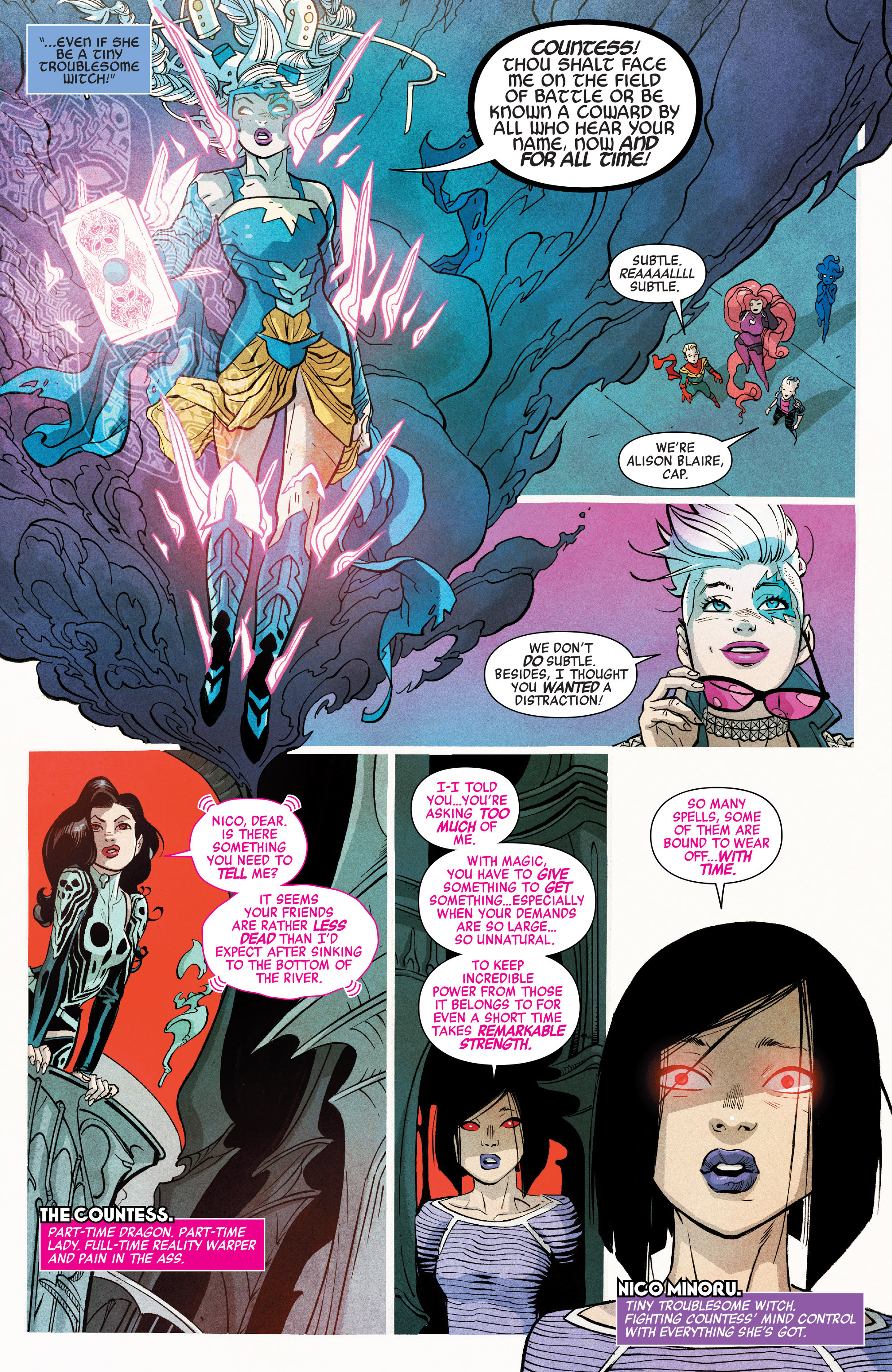 Read online A-Force (2016) comic -  Issue #7 - 8