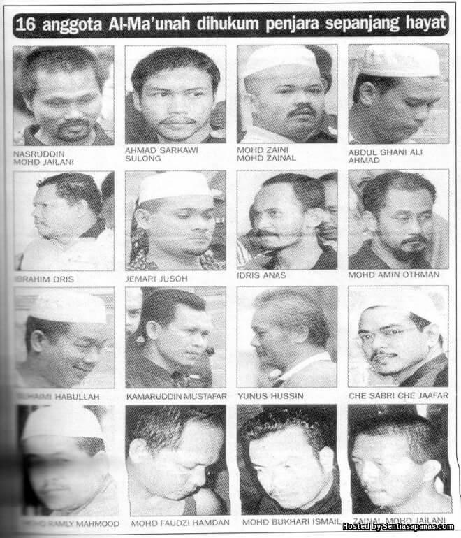 Tragedi Bukit Jenalik Militan Al-Maunah Yang Menggemparkan Negara