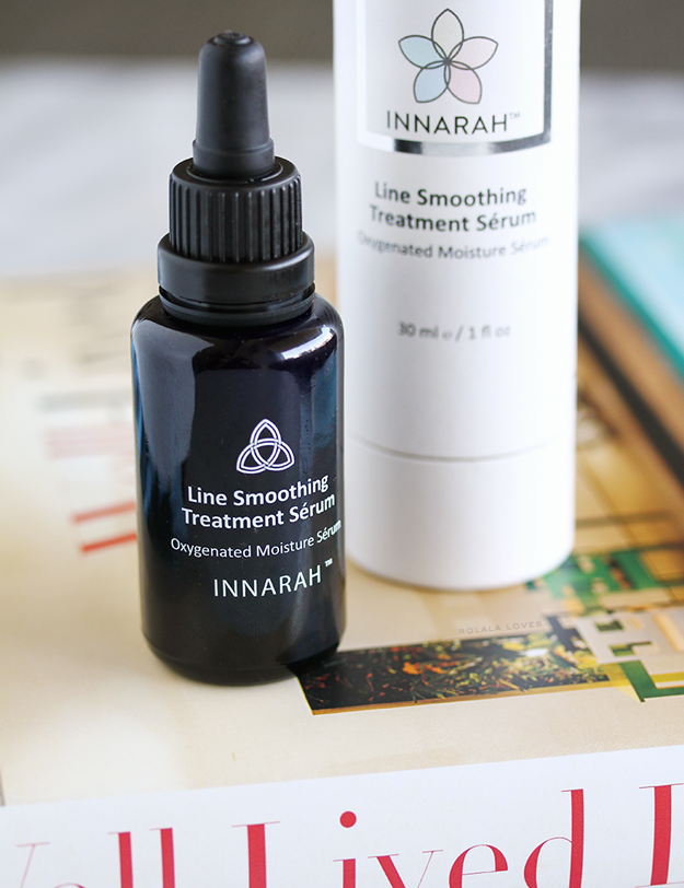 Innarah Line Smoothing Treatment Serum, Innarah Line Smoothing Treatment Serum Oxygenated Moisture Serum Review, Innarah Review, Innarah Serum