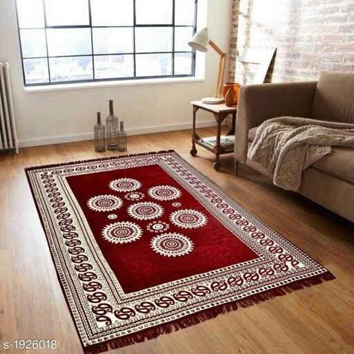 Artistic Cotton Floor Mat