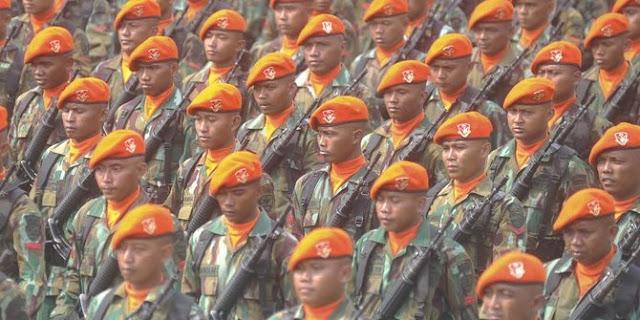 4 Kemampuan Khusus yang Dikuasai Pasukan Korpaskhas TNI AU