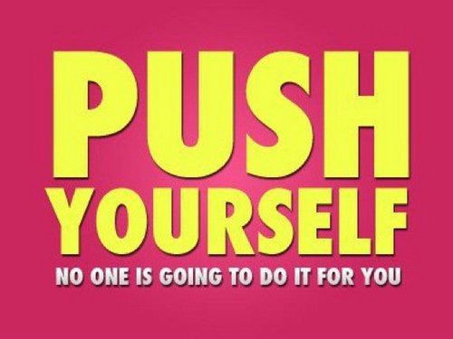 Fintess Motivation Push Upurself