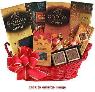 Dark Chocolate Gift Basket Find A Good Home