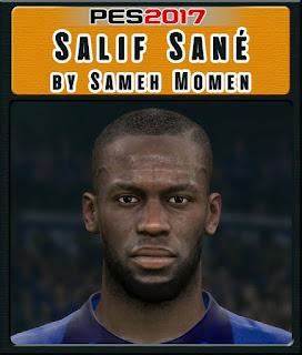 PES 2017 Faces Salif Sané by Sameh Momen