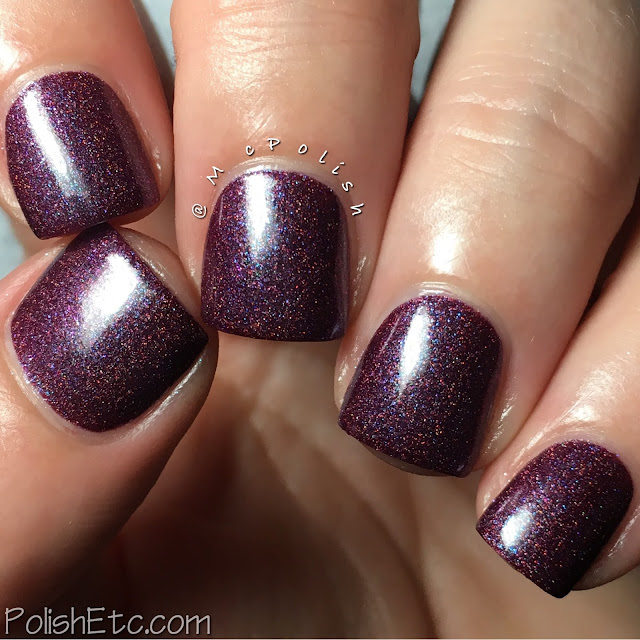 Pahlish - This is Holo-ween! - McPolish - Sandy Claws