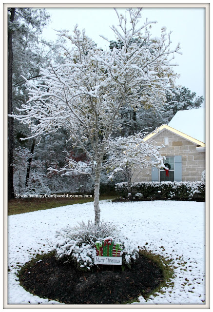 Texas Snow 20017-Christmas-Farmhouse-From My Front Porch To Yours