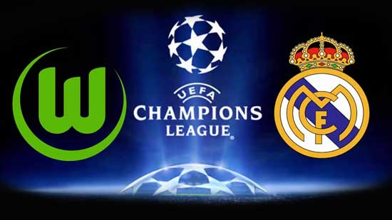 Wolfsburg vs Real Madrid