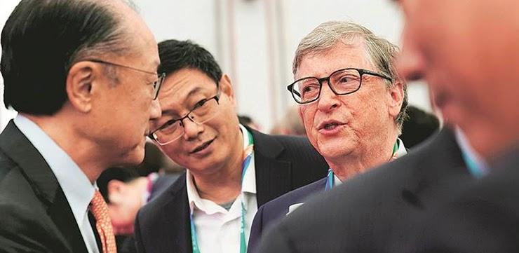 Билл Гейтс и Джим Йонг Ким