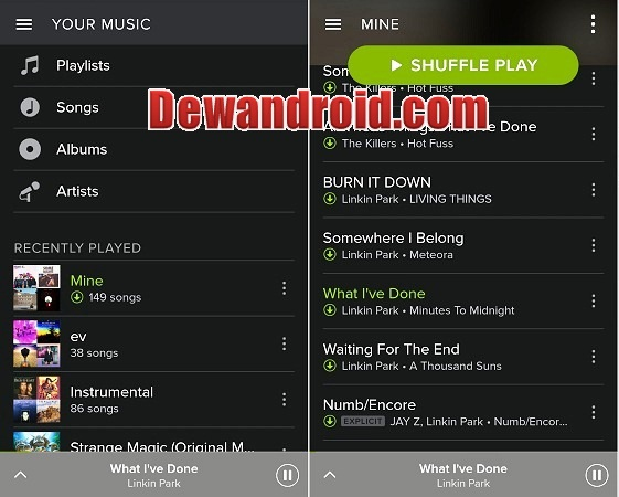 download spotify premium 2017 apk no root