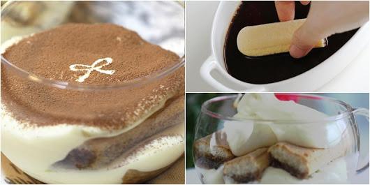 Resep Kue Tiramisu Coklat Praktis
