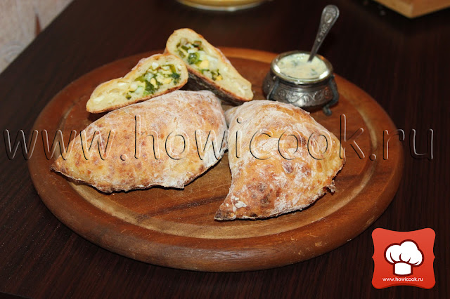 рецепт скусных пирожков с луком и яйцом