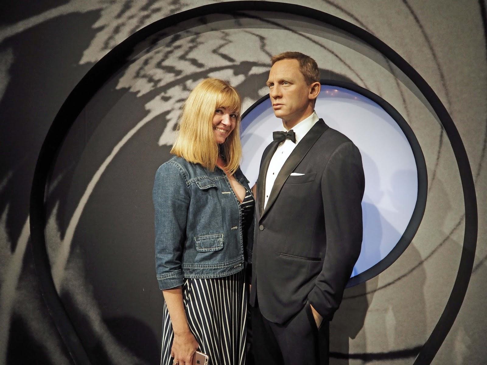 Madam Tussauds, Daniel Craig, James Bond