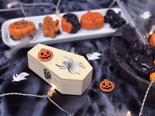 Creepy Cauldron Chocolates