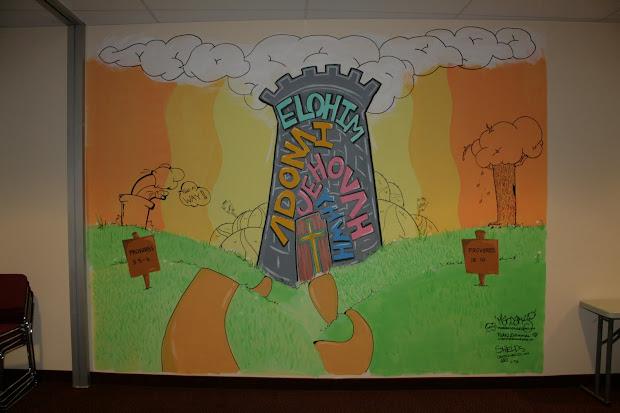 Creative Shields Youth Room Mural- Progressive Community