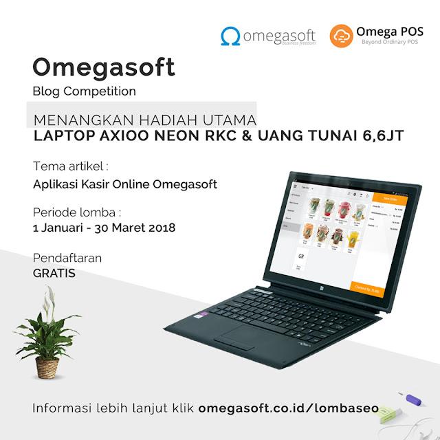 Aplikasi Kasir Online Terbaik dari OMEGASOFT