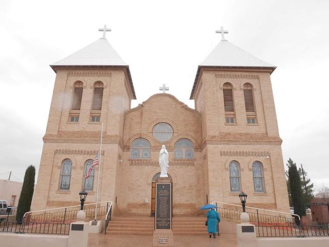 Basilica de San Albino, Mesilla, New Mexico, USA
