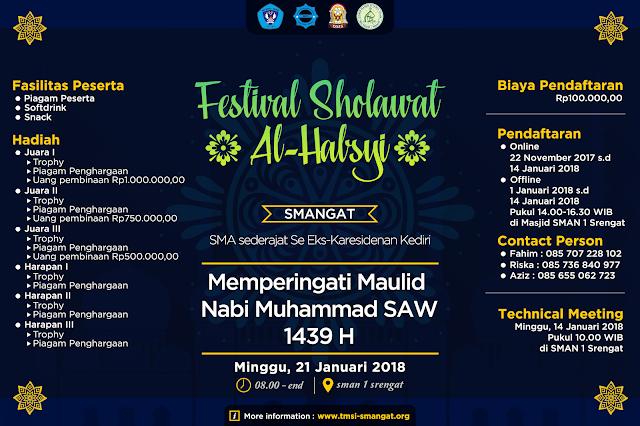 Festival Sholawat AL- HABSYI