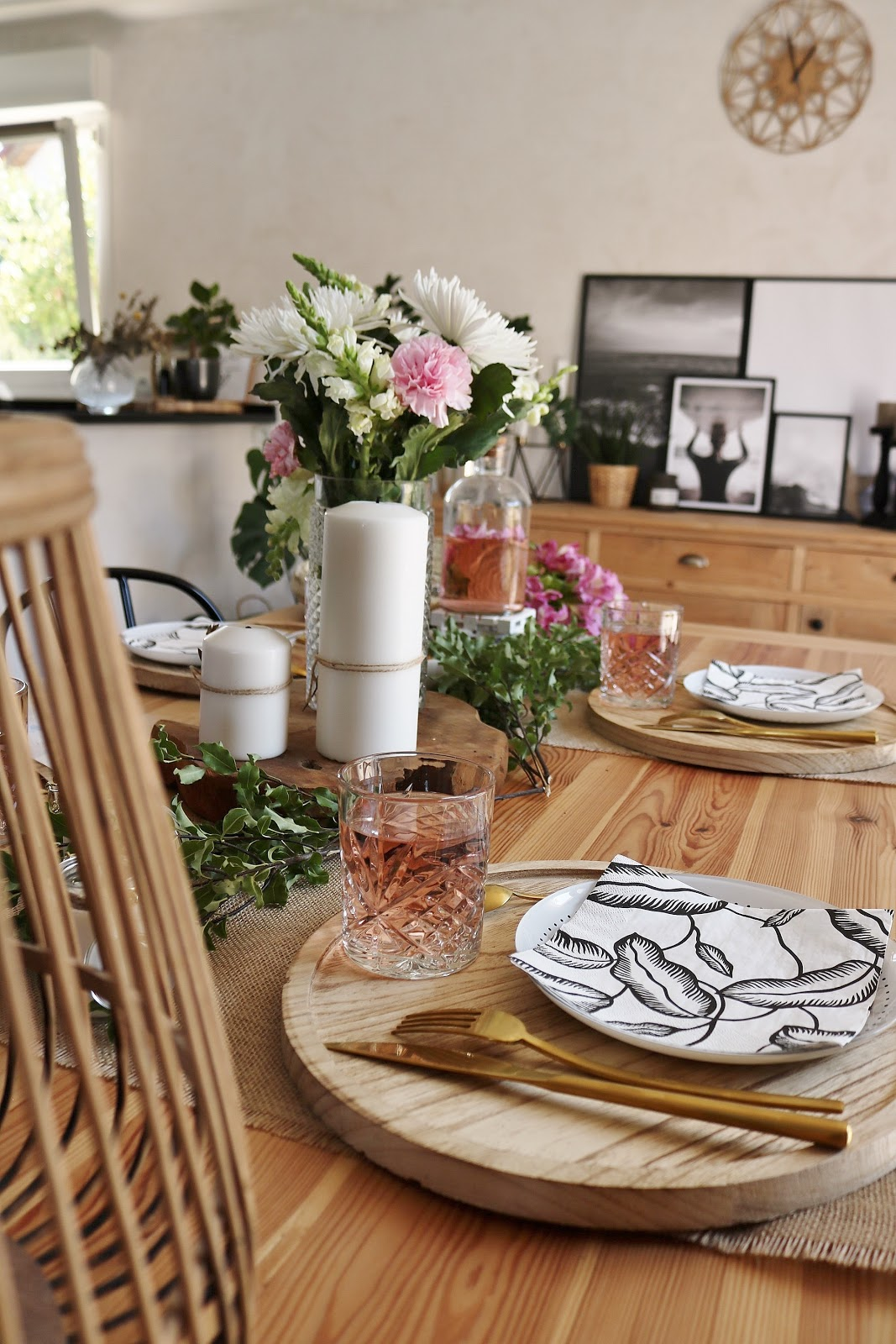 goÛter d'ÉtÉ : dÉco de table - pauline dress - blog mode, lifestyle