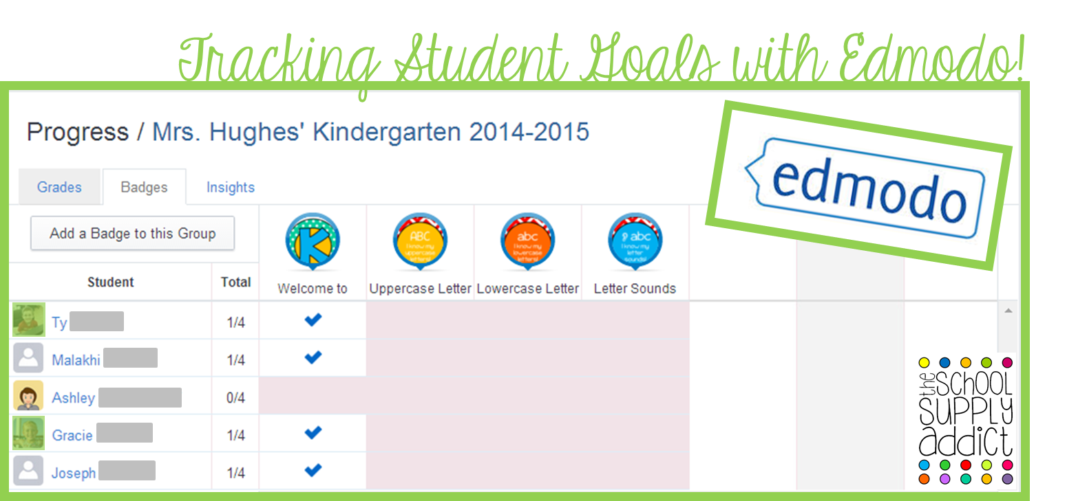 Tracking Student Goals with Edmodo