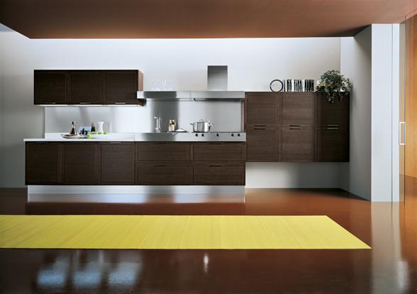 cuisine wenge. Black Bedroom Furniture Sets. Home Design Ideas